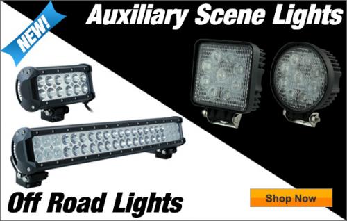 Auxiliary Scene Lights & Off Road Flood Lights'