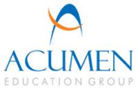 Logo for Acumen Education Group'