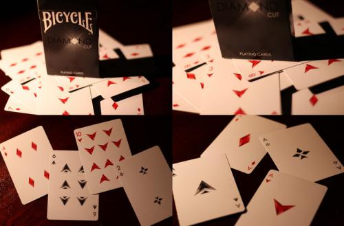 Diamond Cut Playing Cards'