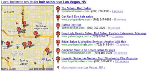 Google Local Business Listings'