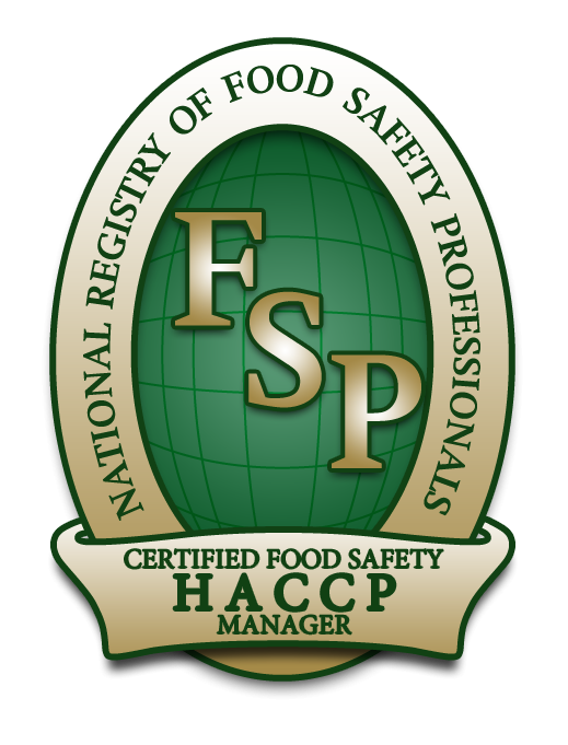 Certified Food Safety HACCP Manager