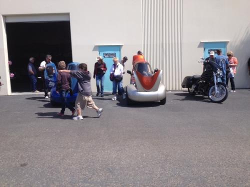 Electric Car by Sparrow Motors'