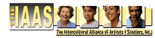 Logo for The Intercultural Alliance of Artists & Scholar'