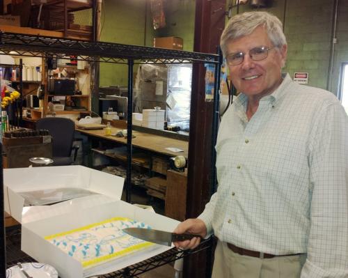 Terry Bridge retires from Bridge Machine Company'