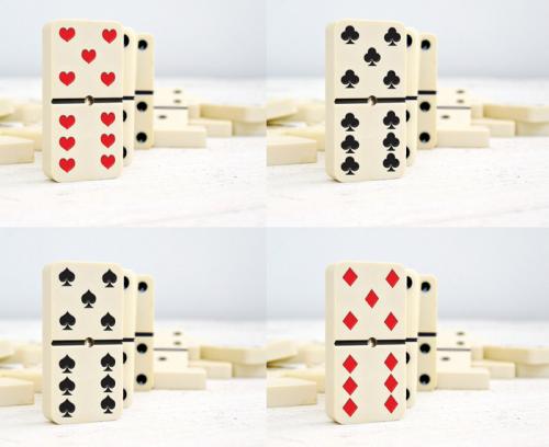 Dominoker Game'