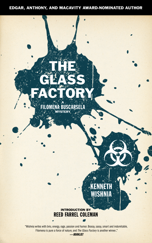 THE GLASS FACTORY book cover'