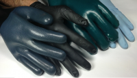 Nitrile and Latex Gloves treated with ENSO RESTORE RL