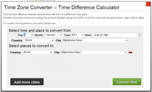 time zone converter'