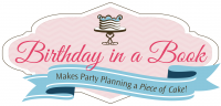 Birthday in a Book Logo