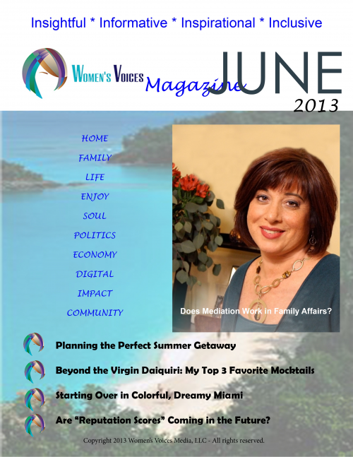 Women's Voices Magazine - June Issue'