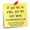 Invisible Illness Week Logo 2010'