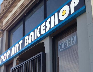 Pop Art Bakeshop Storefront