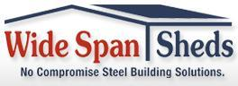 Logo for Wide Span Sheds'