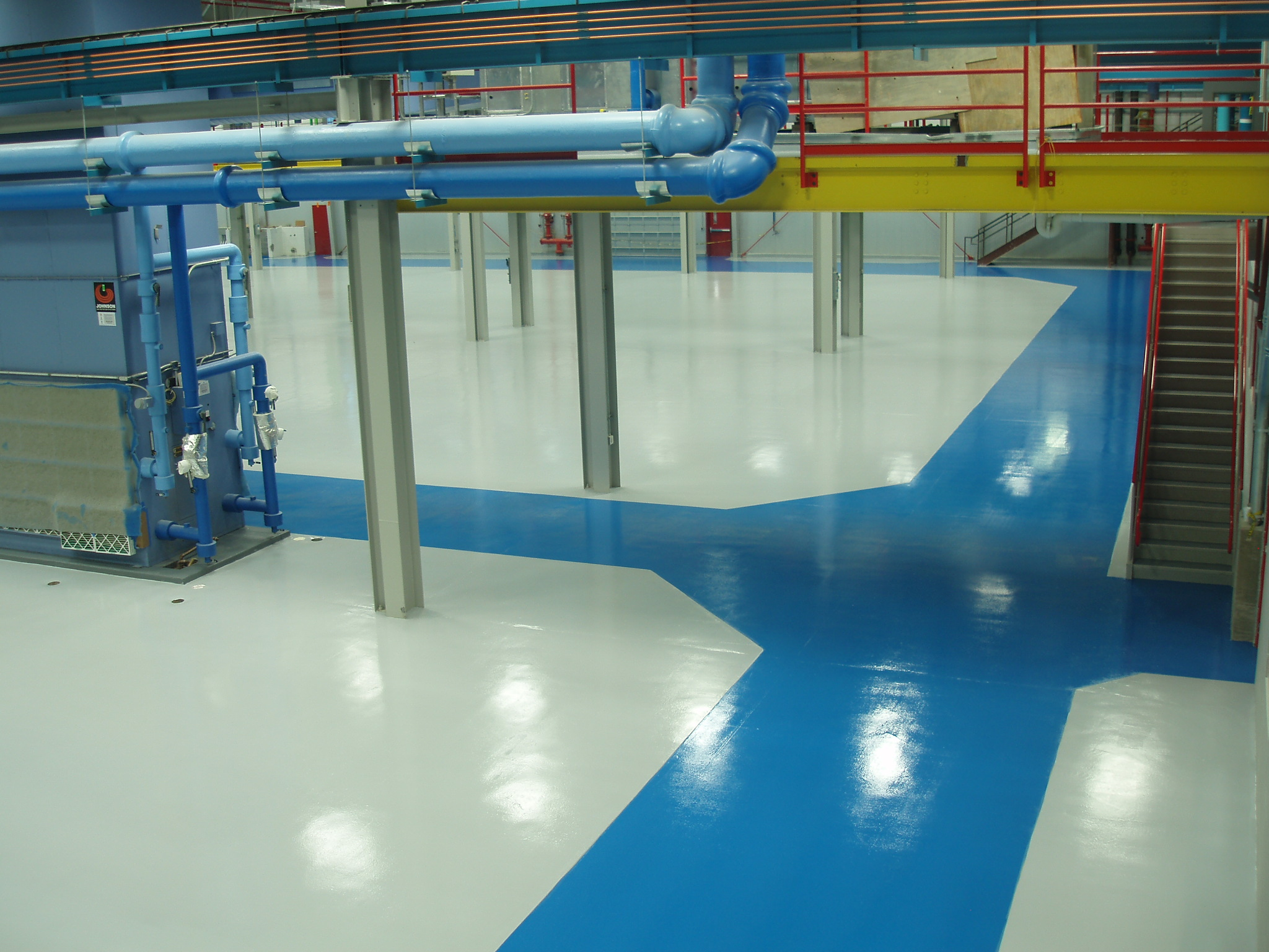 Floor Coatings Airplane hanger-Prime Polymers