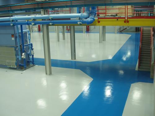 Floor Coatings Airplane hanger-Prime Polymers'