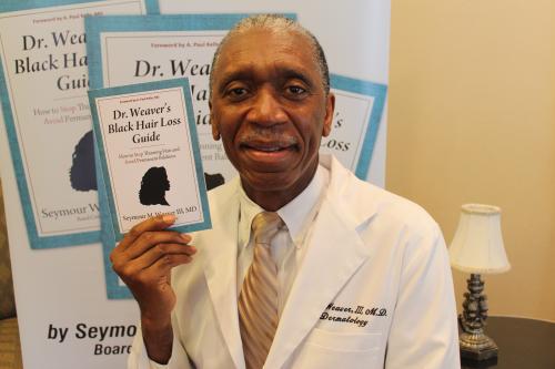 Dr. Seymour Weaver Author Speaker Black Hair  Loss Guide Thi'