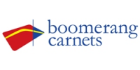boomerang carnets by Corporation for International Business Logo