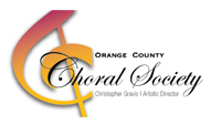 Logo for Orange County Choral Society'