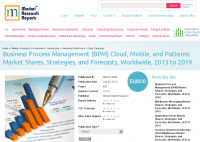 Business Process Management Cloud, Mobile and Patterns