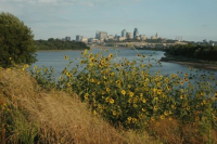 View from Kaw Point