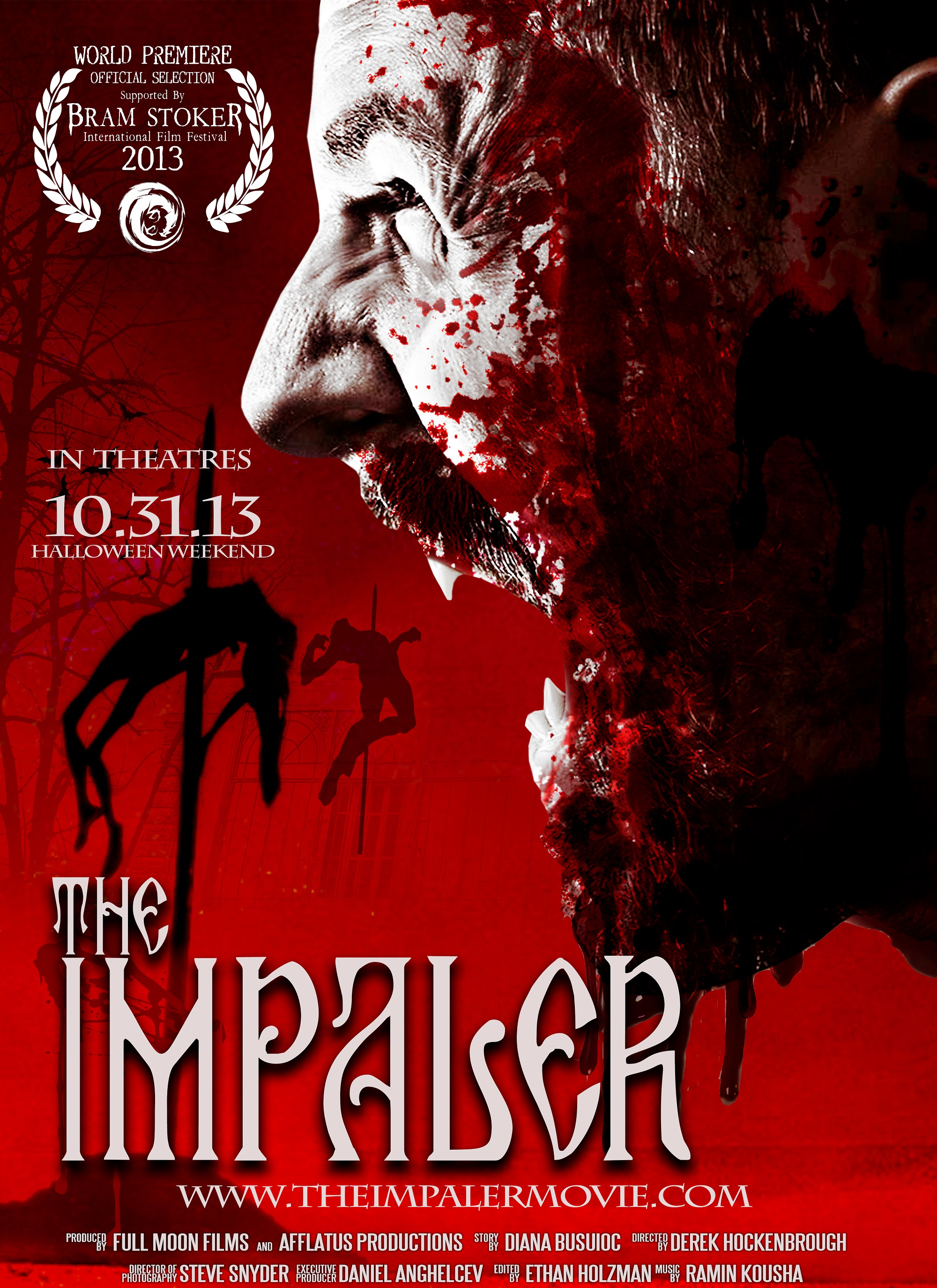 The Impaler Poster 1st look