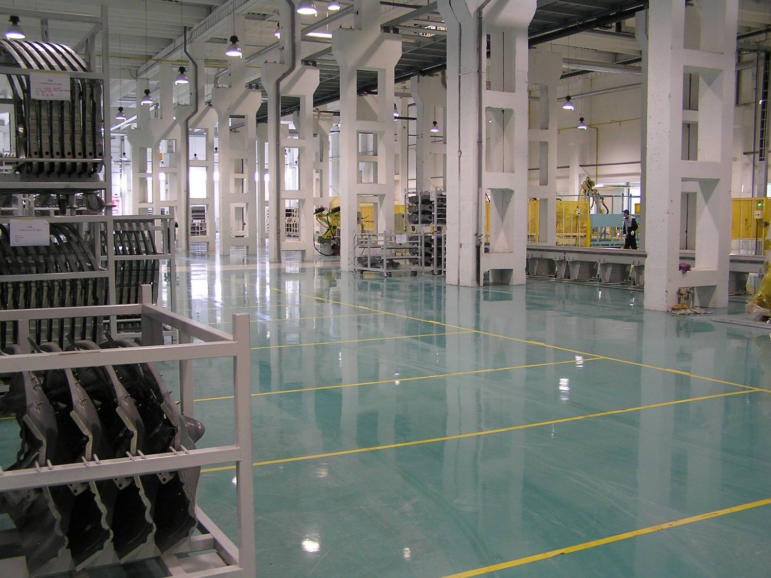 Manufacturing - Epoxy floor coating