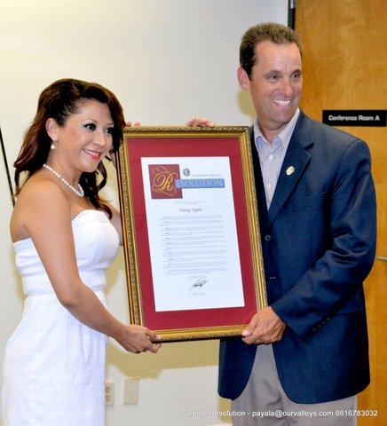 Patsy Ayala Named Woman of the Year 2013'