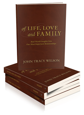 Book Cover - Of Life, Love and Family