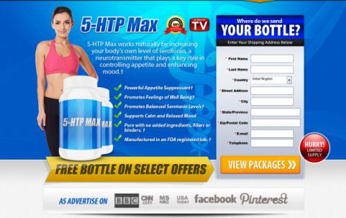5 HTP Max Offer'