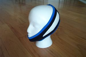 My Snoring Solution - Chinstrap on Mannequin Head'