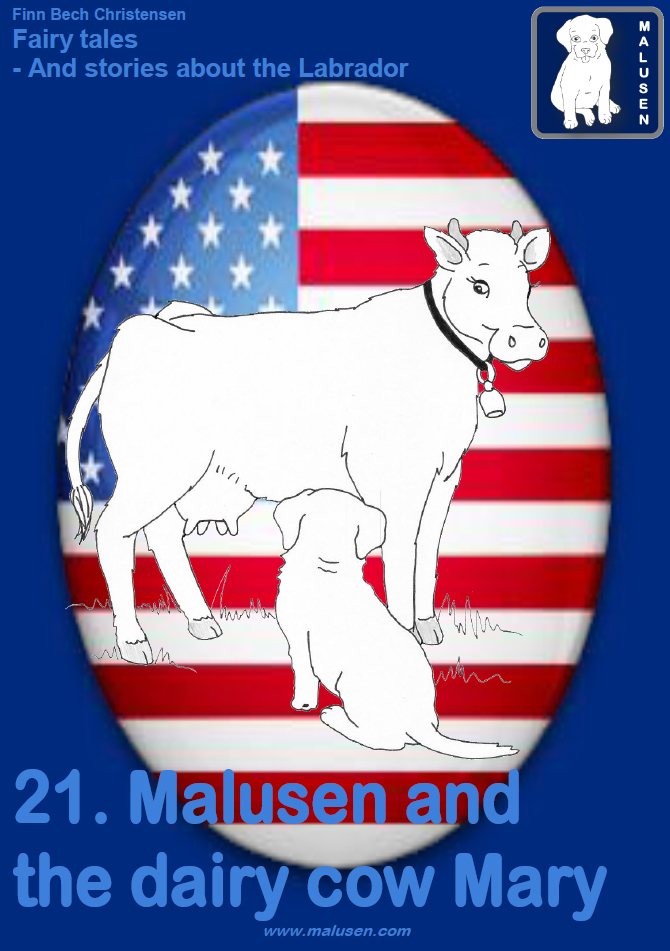 Malusen and the dairy cow Mary