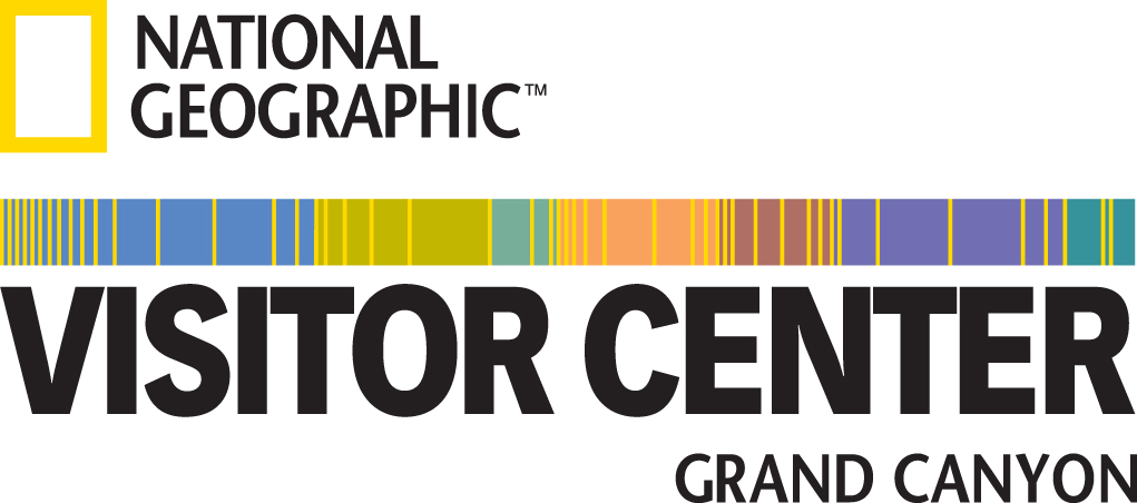 The National Geographic Visitor Center and IMAX Theater Logo