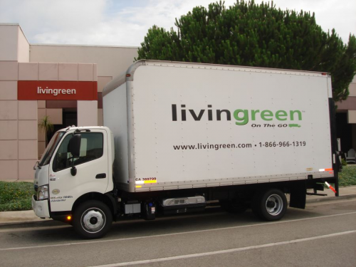 Livingreen Hino Hybrid Vehicle'
