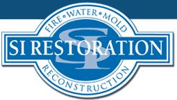 SI Restoration Company Logo'