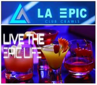 LA Epic Club Crawl Logo