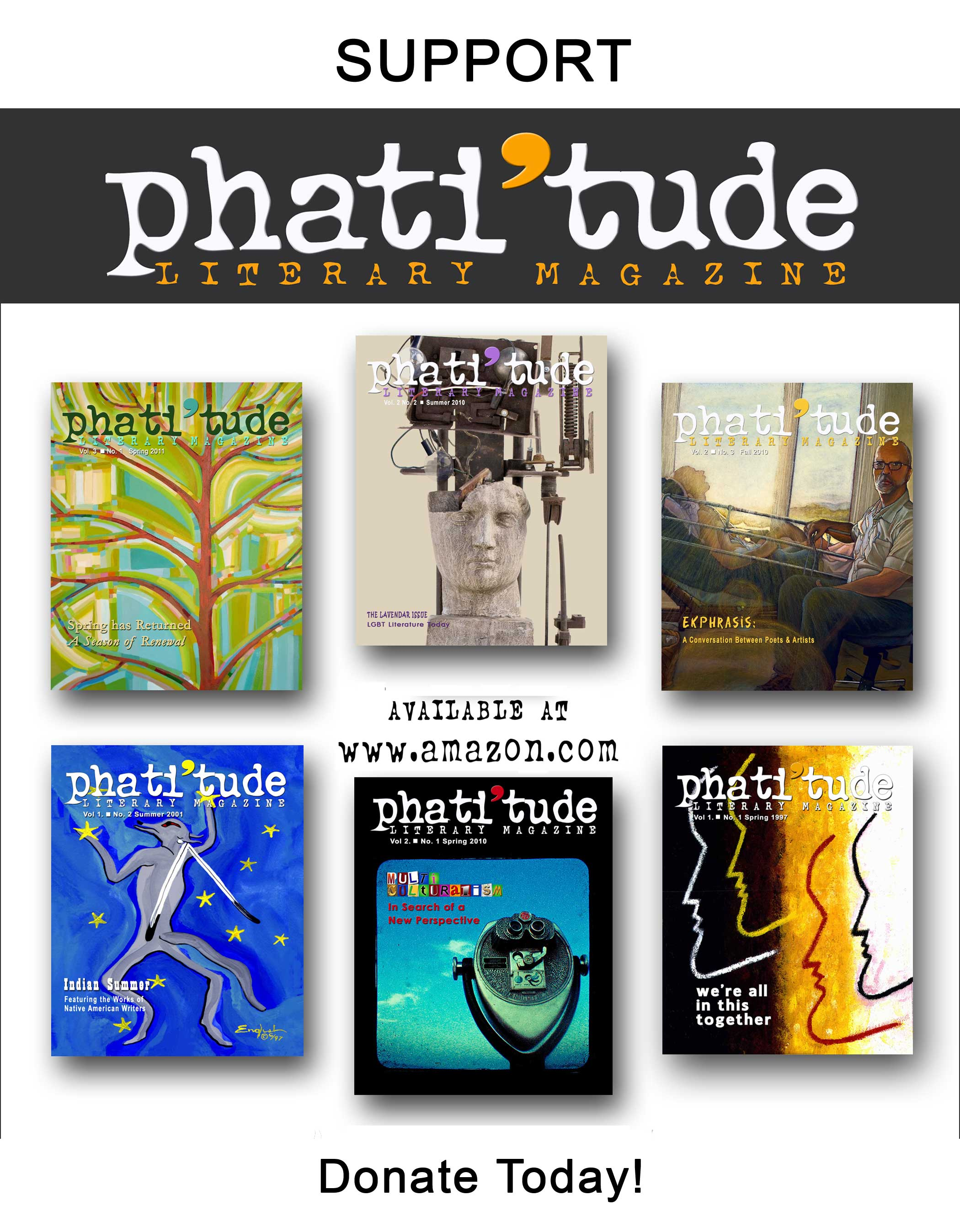 phati'tude magazine covers