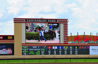 Lighthouse LED Video Display at Canterbury Park