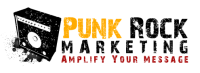 Punk Rock Marketing Logo