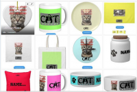 Selection of customizable gifts