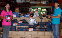 Buriram_Bosch_Tool_Display_in_Buriram__Thailand