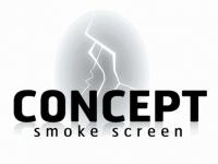 Concept Smoke Screen Logo