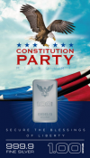 Constitution Party Card'