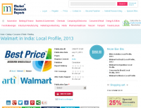 Walmart in India: Local Profile, 2013