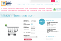 The Future of Retailing in India to 2017