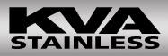 Logo for KVA Stainless Inc.'