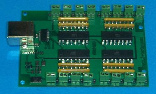 JSB39616 USB 16 Channel Switch Input'