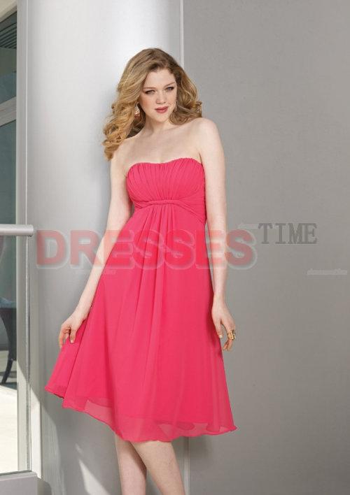 New Designs Of Red Bridesmaid Dresses Released By Dressestim'