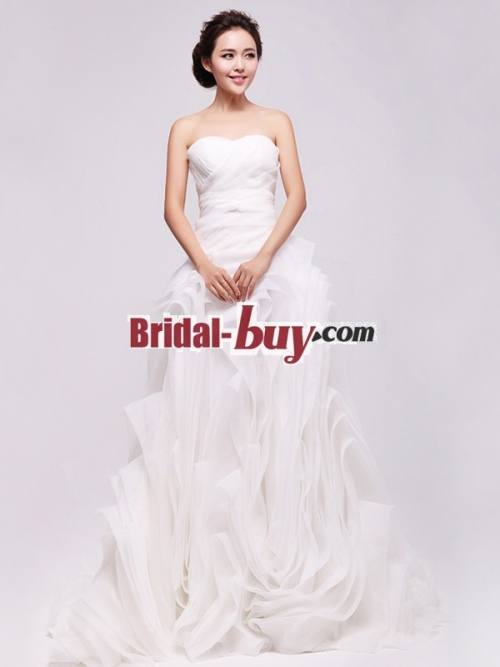 Bridal-buy.com Released Its New Strapless Wedding Dress'
