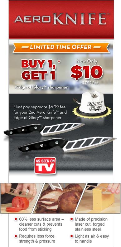 Aero Knife TV Offer'