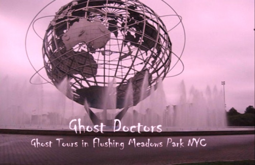 Ghost Doctos NYC Flushing Meadows Park'